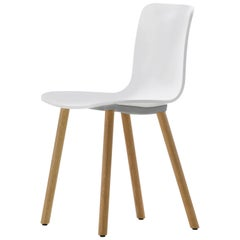 Vitra Hal Wood in White by Jasper Morrison