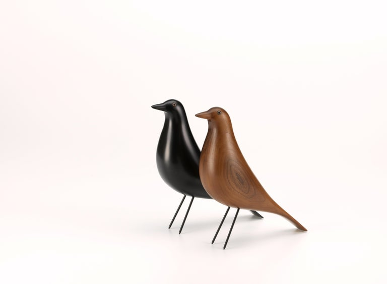 Swiss Vitra House Bird in Walnut by Charles & Ray Eames, 1stdibs New York For Sale