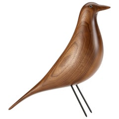 Vitra House Bird in Walnut by Charles & Ray Eames, 1stdibs New York
