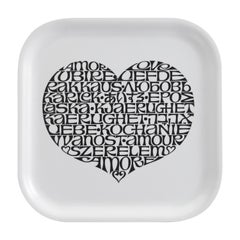 Vitra International Love Heart Classic Tray by Alexander Girard