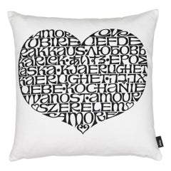 Limited Edition Vitra International Love Pillow by Alexander Girard
