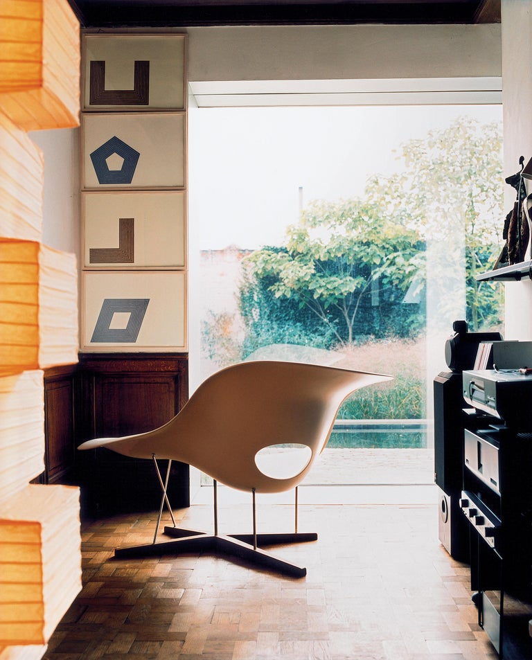 Contemporary Vitra La Chaise Chair by Charles & Ray Eames For Sale
