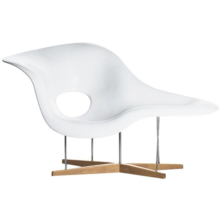 Vitra La Chaise Chair by Charles & Ray Eames For Sale