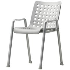Vitra Landi Chair in Matte Anodized Aluminum by Hans Coray