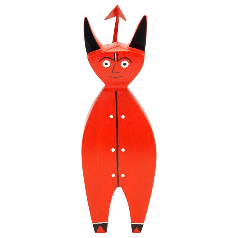 Vitra Little Devil Wooden Doll by Alexander Girard - 1stdibs New York For Sale