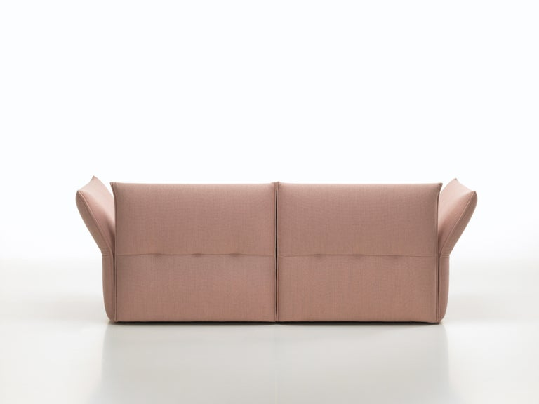 Vitra Mariposa 2-1/2 Seat Sofa, Pale Rose/ Beige by Edward Barber & Jay  Osgerby