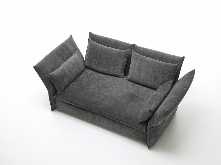 Vitra Mariposa 2-Seat Sofa in Dark Grey Iroko2 by Edward Barber & Jay  Osgerby