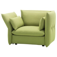Vitra Mariposa Loveseat in Sand & Avocado Credo by Edward Barber & Jay Osgerby