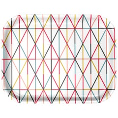 Vitra Medium Classic Tray in Multi-Color Grid by Alexander Girard, 1stdibs NY