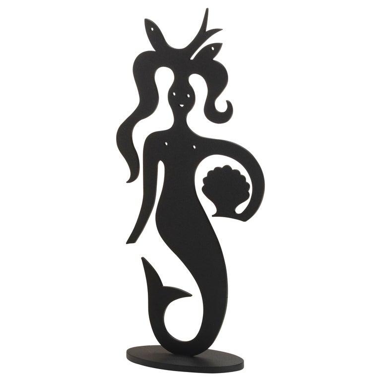 Vitra Mermaid Silhouette in Black by Alexander Girard, 1stdibs New York For Sale
