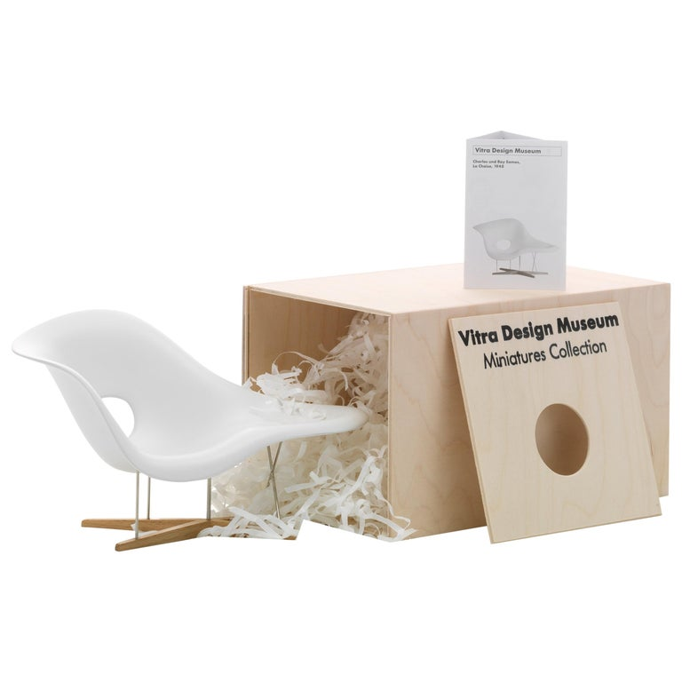 Vitra Miniature La Chaise by Charles & Ray Eames For Sale