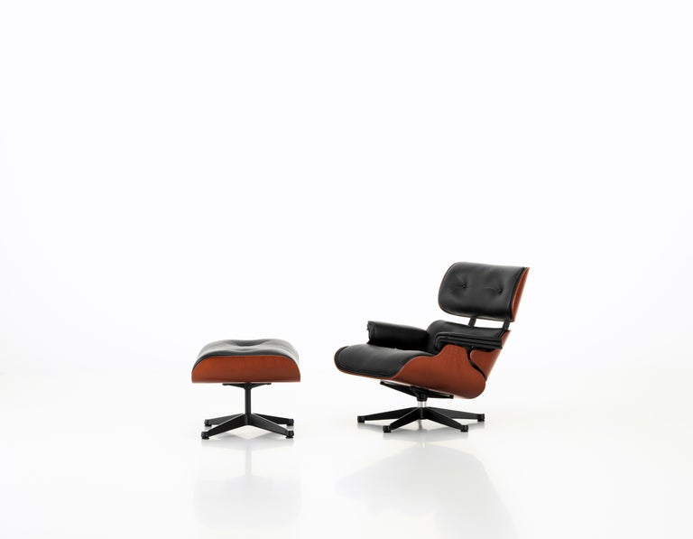 These items are currently only available in the United States.  The lounge chair is one of the best known creations of Charles and Ray Eames. Created in 1956, it has become a classic in modern furniture history. The miniature version in is a