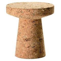 Vitra Model C Cork Stool by Jasper Morrison