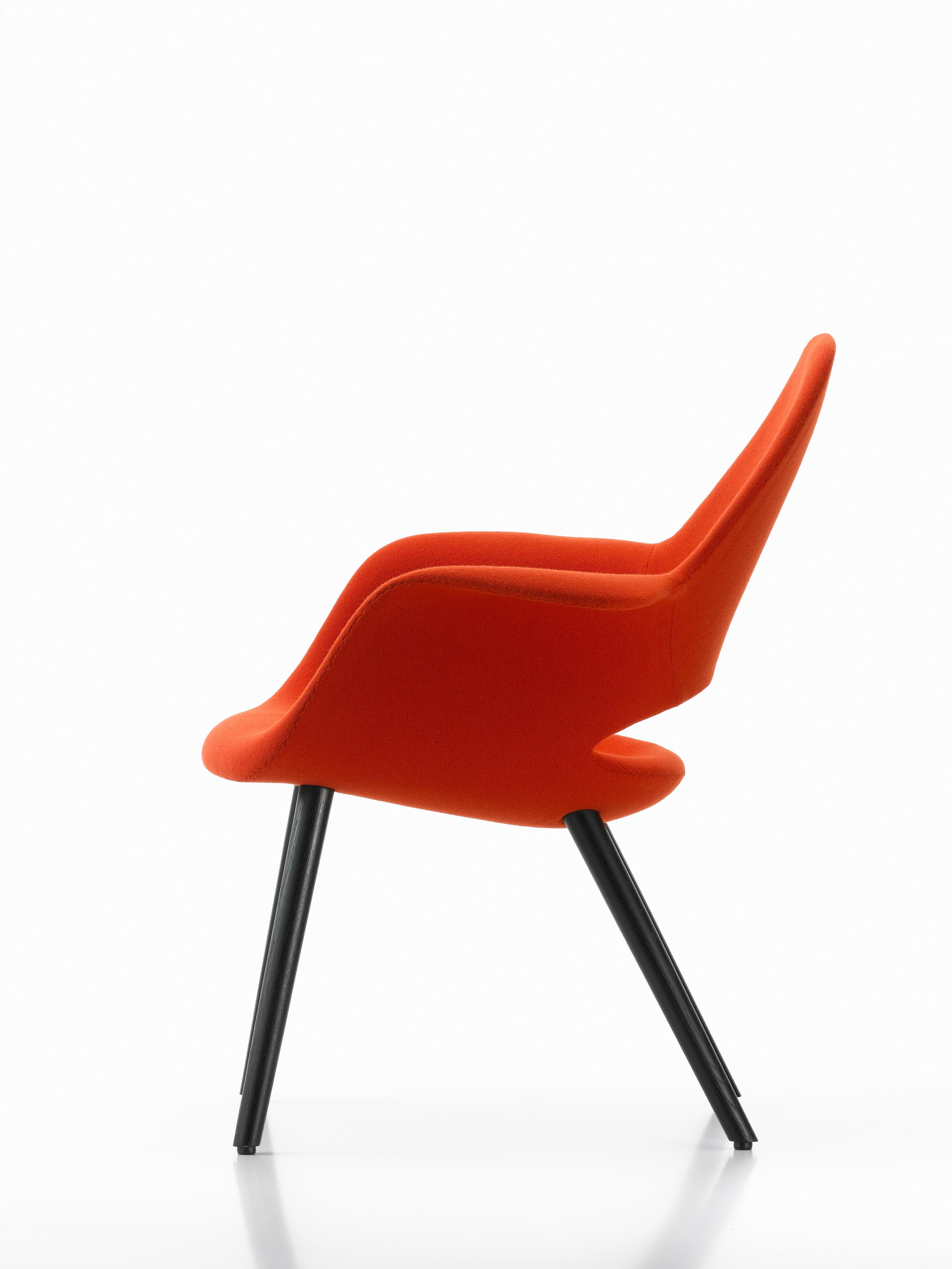 Eames Eero Vitra Black Red Chair Hopsackamp; Saarinen In Charles Ash Organic By OXuZkiPT