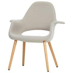 Vitra Organic Chair in Rock Credo and Oak by Charles Eames & Eero Saarinen