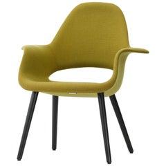 Vitra Organic Chair in Yellow and Black Ash by Charles Eames & Eero Saarinen