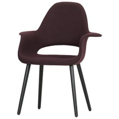 Vitra Organic Conference Chair in Chestnut by Charles Eames & Eero Saarinen