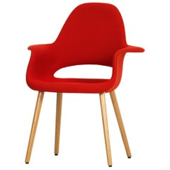 Vitra Organic Conference Chair in Red Chilli by Charles Eames & Eero Saarinen