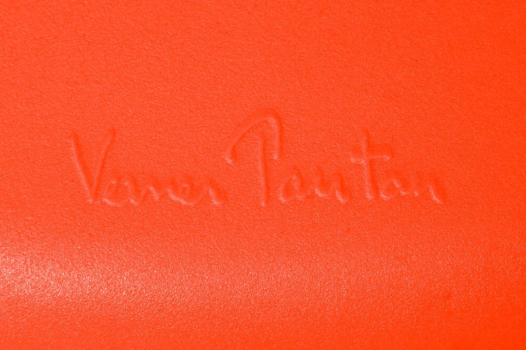 Vitra Panton Chair in Classic Red by Verner Panton In New Condition For Sale In New York, NY