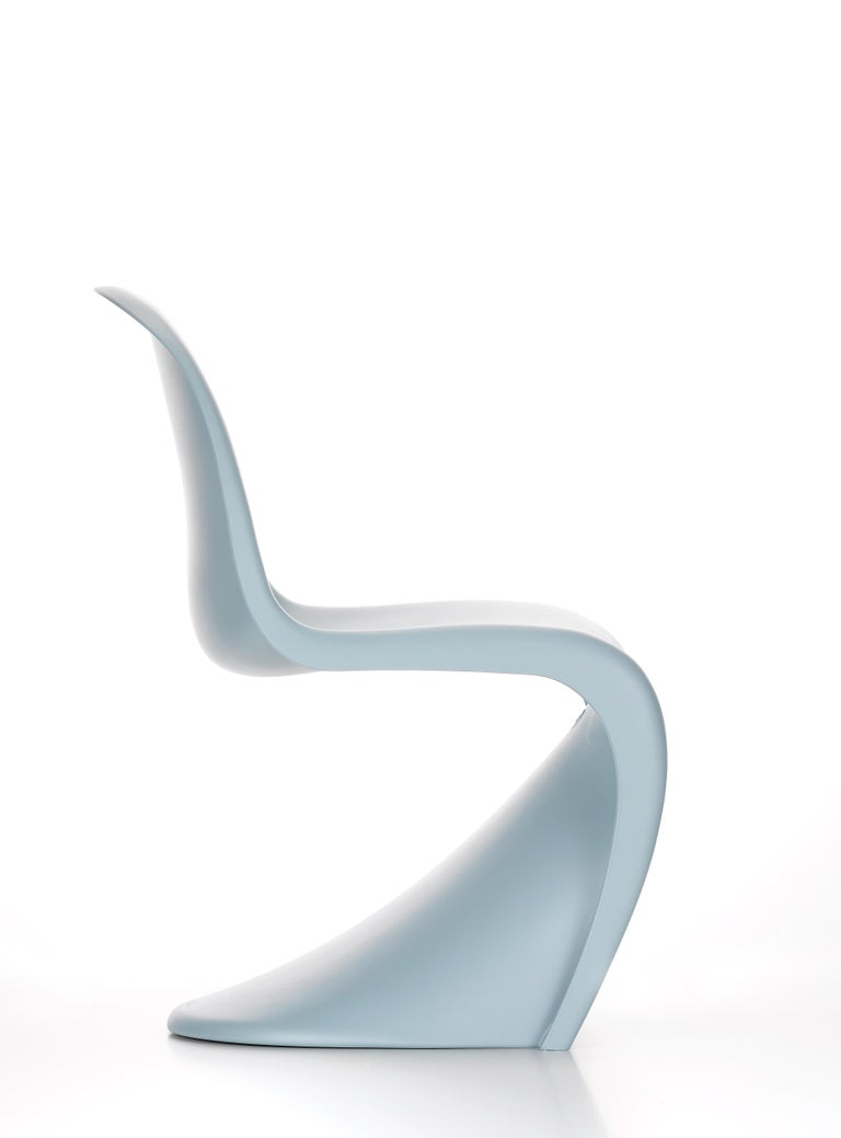 These items are currently only available in the United States.  Conceived by Verner Panton in 1960, the Panton chair was developed for serial production in collaboration with Vitra (1967). Today, the all-plastic chair is an icon of twentieth-century