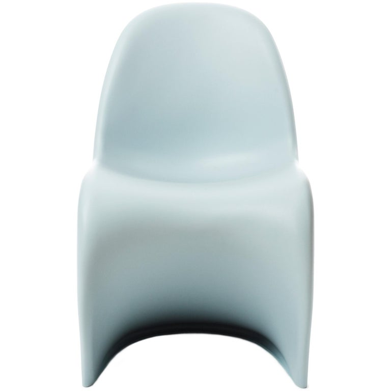 Vitra Panton Chair in Ice Grey by Verner Panton For Sale