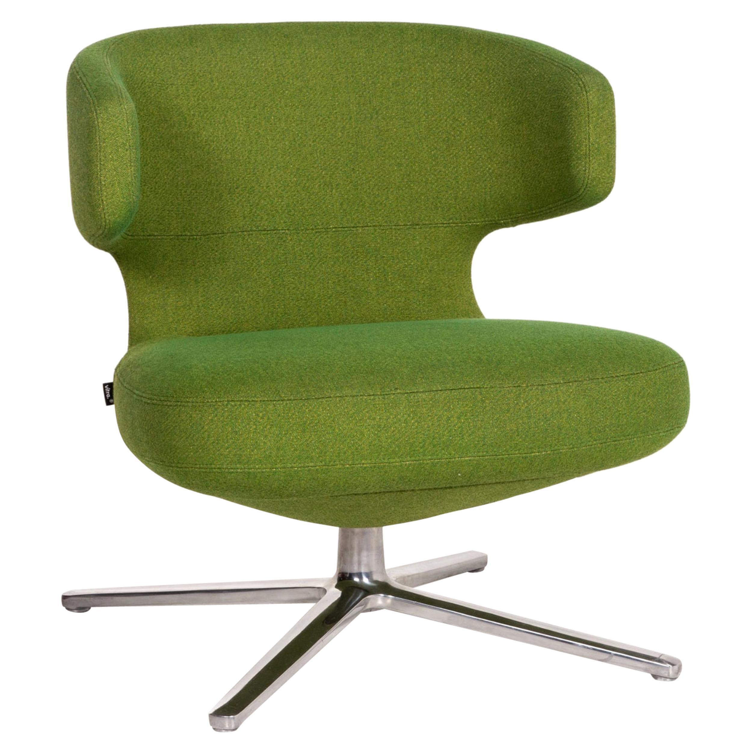 Vitra Petit Repos Green Armchair Fabric
