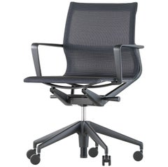 Vitra Physix Chair in Carbon Trio Knit by Alberto Meda