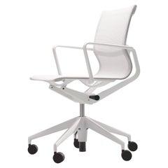 Vitra Physix Chair in Cream Fleece Net by Alberto Meda