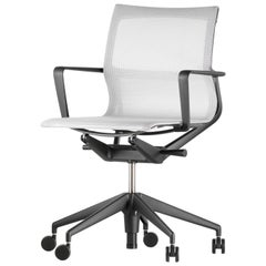 Vitra Physix Chair in Silver Trio Knit by Alberto Meda