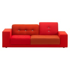 Vitra Polder Compact Sofa in Red Shades by Hella Jongerius