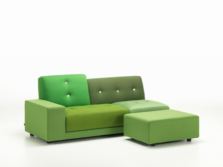 Contemporary Vitra Polder Sofa in Green Shades by Hella Jongerius For Sale