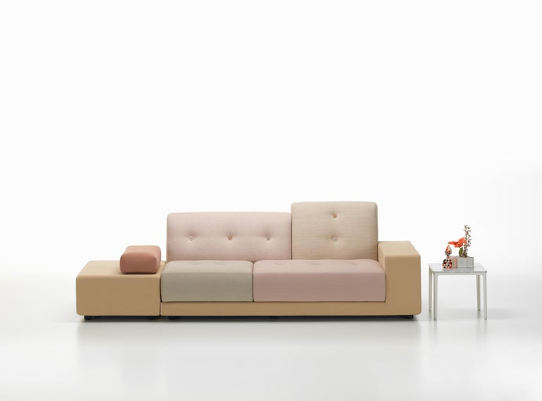 Vitra Polder Sofa in Pastel Shades by Hella Jongerius In New Condition For Sale In New York, NY