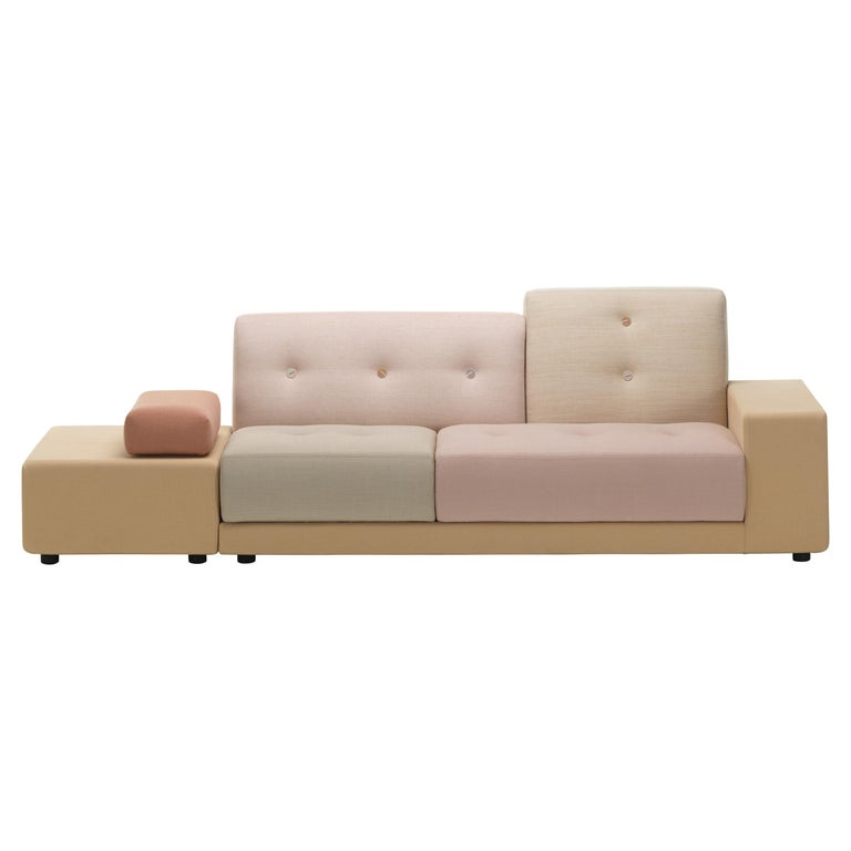 Vitra Polder Sofa in Pastel Shades by Hella Jongerius For Sale