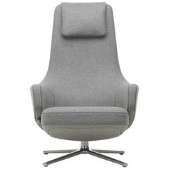 Vitra Repos Lounge Chair in Pebble Grey Cosy by Antonio Citterio