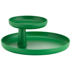 Vitra Rotary Tray in Palm Green by Jasper Morrison
