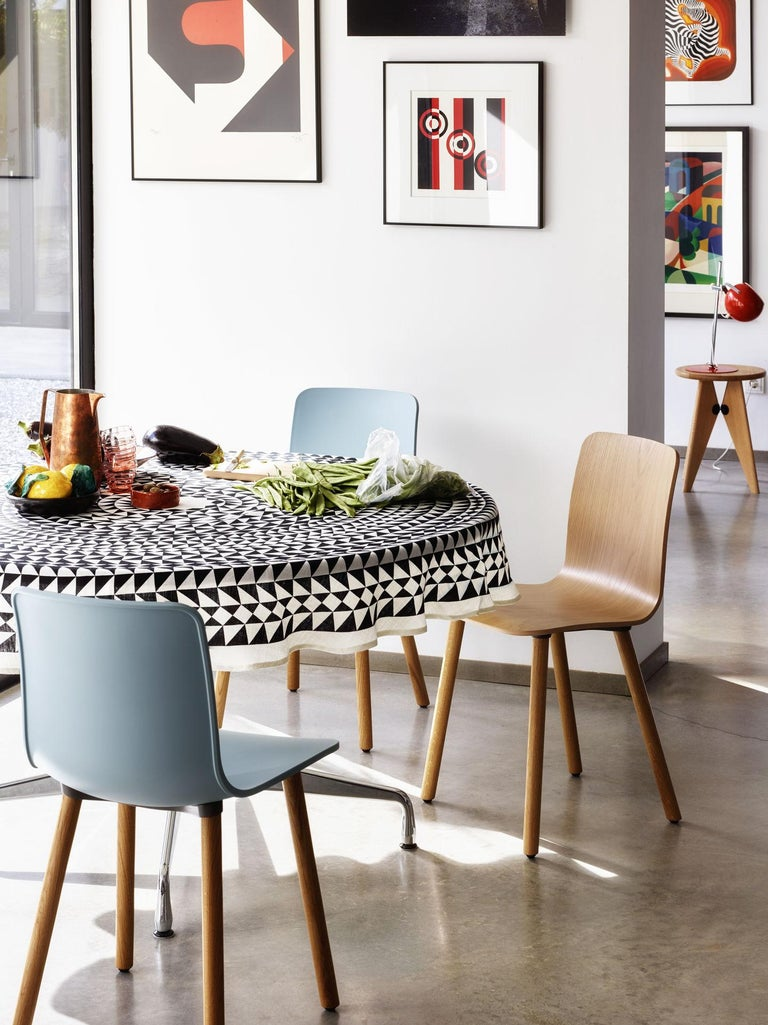 Swiss Vitra Round Tablecloth in Black Geometric by Alexander Girard, 1stdibs New York For Sale