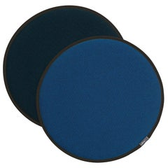Vitra Seat Dot Cushion in Blue and Coconut, Nero and Ice Blue by Hella Jongerius