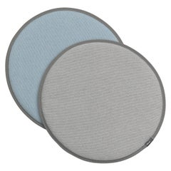 Vitra Seat Dot Cushion in Cream, Greys and Ice Blue by Hella Jongerius
