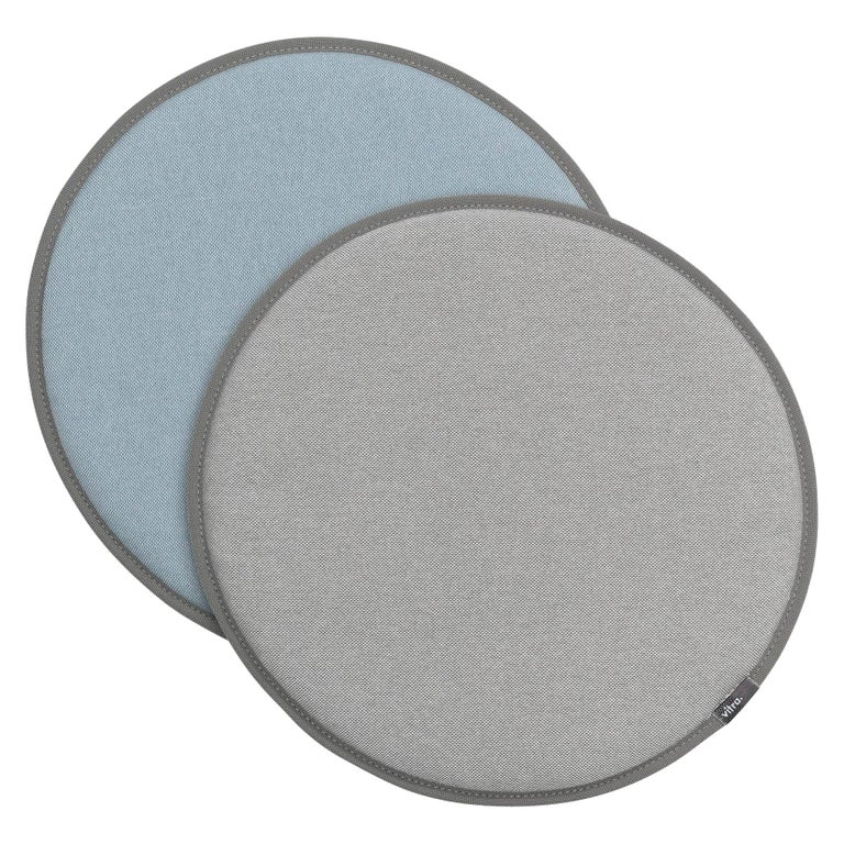Vitra Seat Dot Cushion in Cream, Greys and Ice Blue by Hella Jongerius For Sale