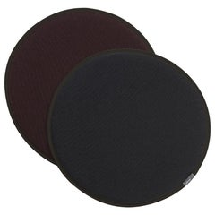 Vitra Seat Dot Cushion in Dark Grey and Nero, Maroon & Nero by Hella Jongerius