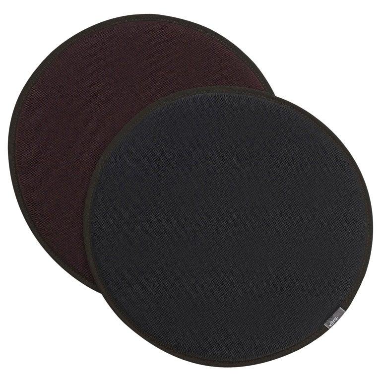 Vitra Seat Dot Cushion in Dark Grey and Nero, Maroon & Nero by Hella Jongerius For Sale