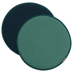 Vitra Seat Dot Cushion in Mint and Forest, Petrol & Nero by Hella Jongerius