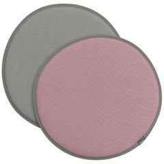 Vitra Seat Dot Cushion in Pink, Sierra Grey and Light Grey by Hella Jongerius