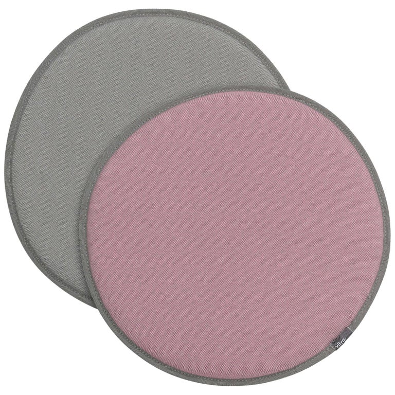 Vitra Seat Dot Cushion in Pink, Sierra Grey and Light Grey by Hella Jongerius For Sale