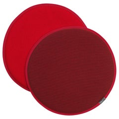 Vitra Seat Dot Cushion in Red and Coconut and Poppy Red by Hella Jongerius