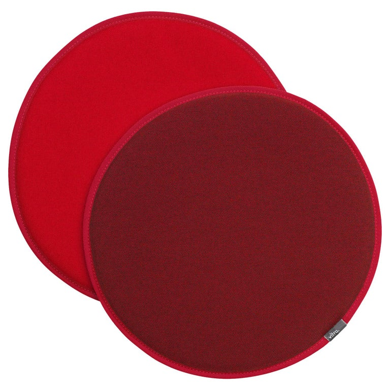 Vitra Seat Dot Cushion in Red and Coconut and Poppy Red by Hella Jongerius For Sale