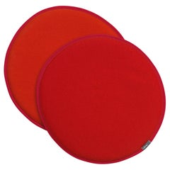 Vitra Seat Dots in Red and Poppy Red and Orange by Hella Jongerius