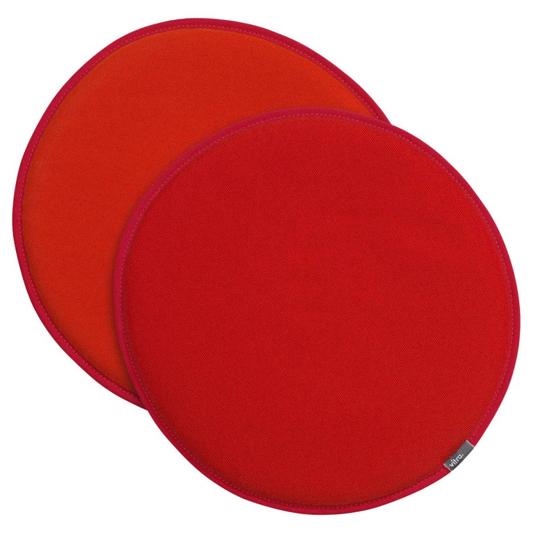 Vitra Seat Dots in Red and Poppy Red and Orange by Hella Jongerius For Sale