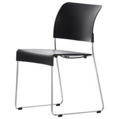 Vitra Sim Chair in Basic Dark by Jasper Morrison