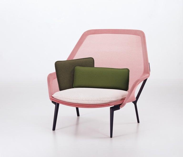 These products are only available in the United States.  Ronan and Erwan Bouroullec created this expansive armchair by using an extremely strong, precisely shaped knit which is stretched over the metal frame like a fitted stocking. Thanks to the
